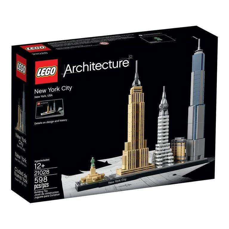lego architecture news: gothamist officially reveals 21028 new