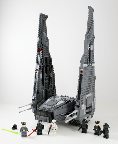75104 Kylo Ren's Command Shuttle Full Set