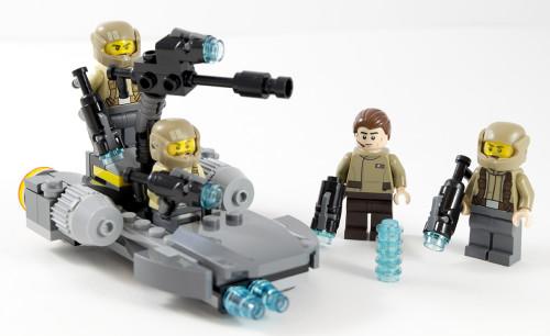 75131 Resistnace Trooper Battle Pack Full Set
