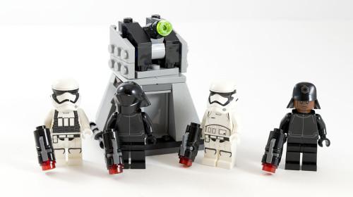75132 First Order Battle Pack Full Set