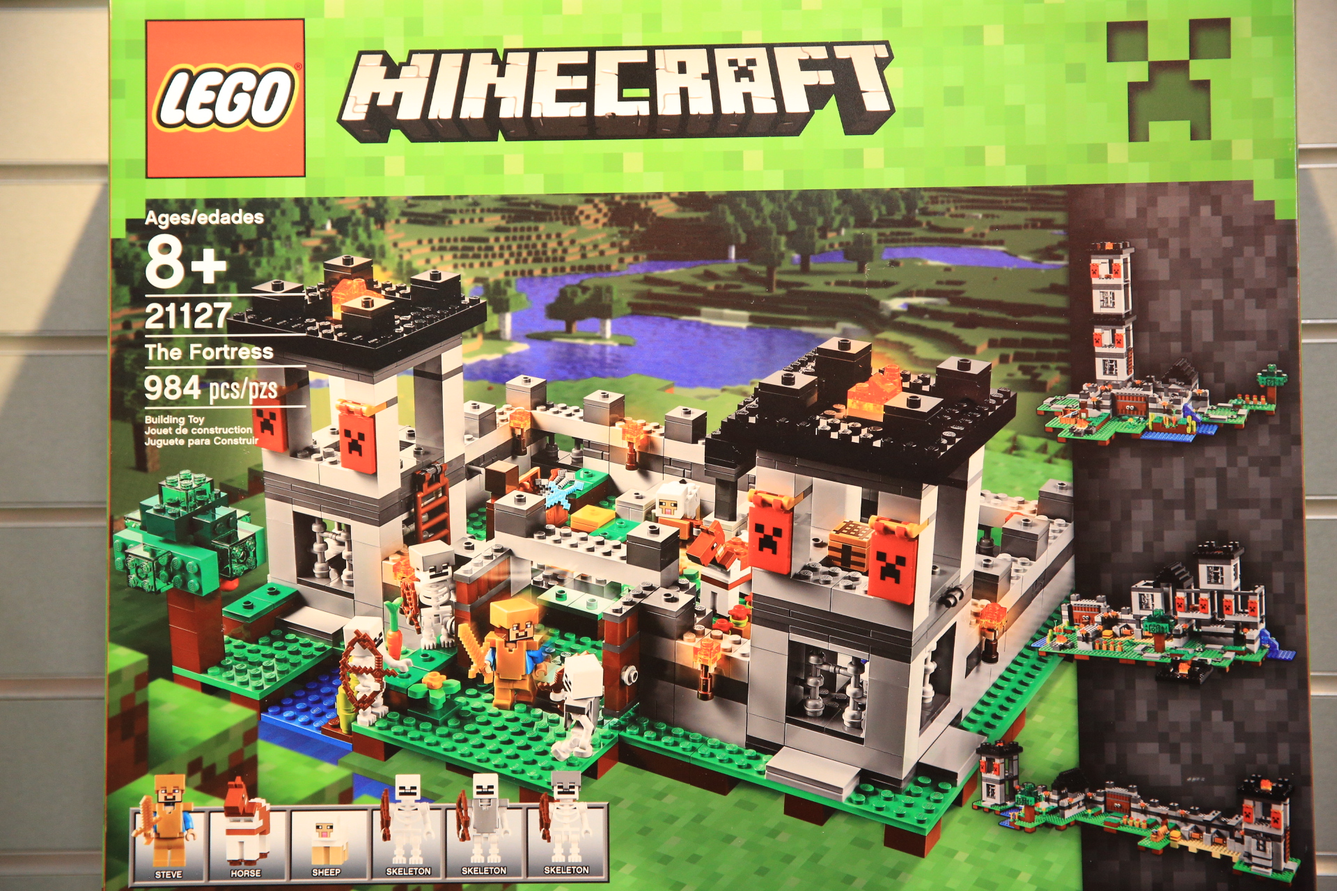 lego minecraft the end portal instructions