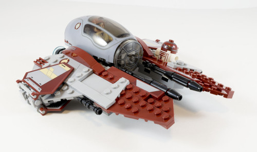 75135 Obi-Wan's Jedi Interceptor Full Set