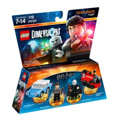 71247 Harry Potter Team Pack 3