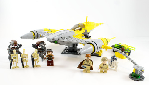 75092 Naboo Starfighter Full Set