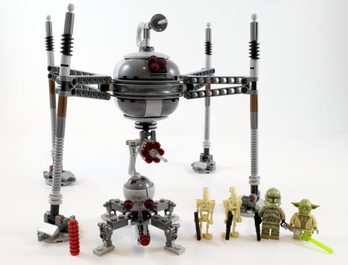 75142 Homing Spider Droid Full Set