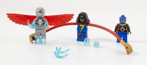 76076 Captain America Jet Pursuit Minifigures