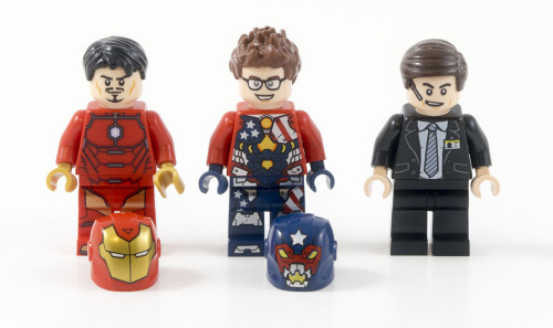 76077 Iron Man Detroit Steel Strikes Minifigures