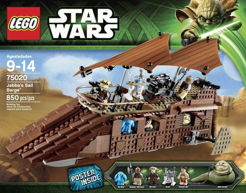 75020 Jabba's Sail Barge