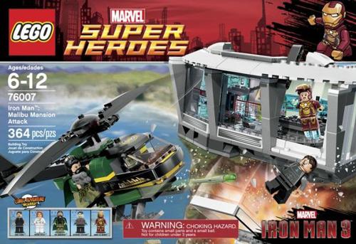 76007 Iron Man: Malibu Mansion