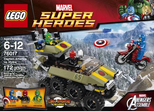 76017 Captain America vs. Hydra