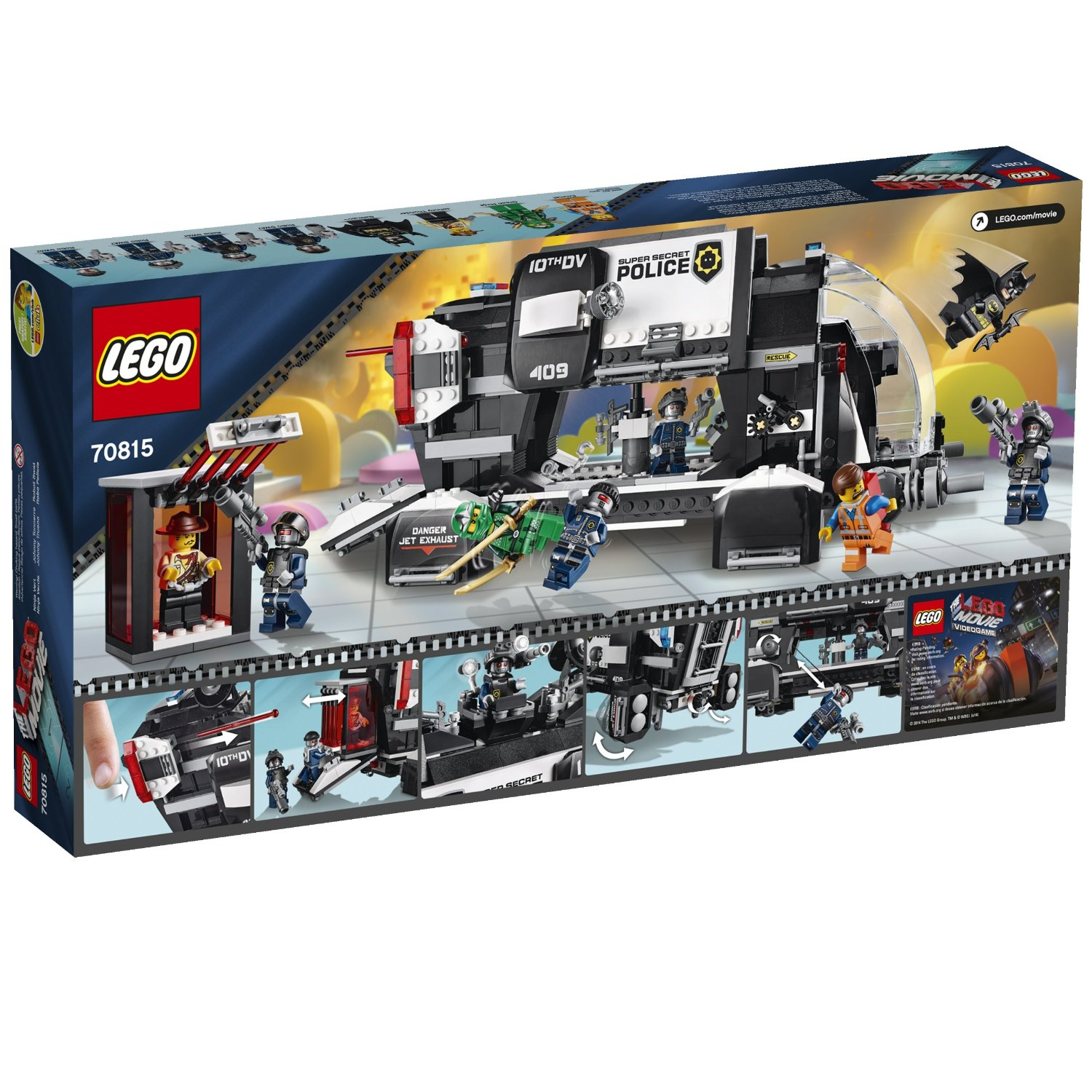 Index Of Guide Sets The Lego Movie 70815