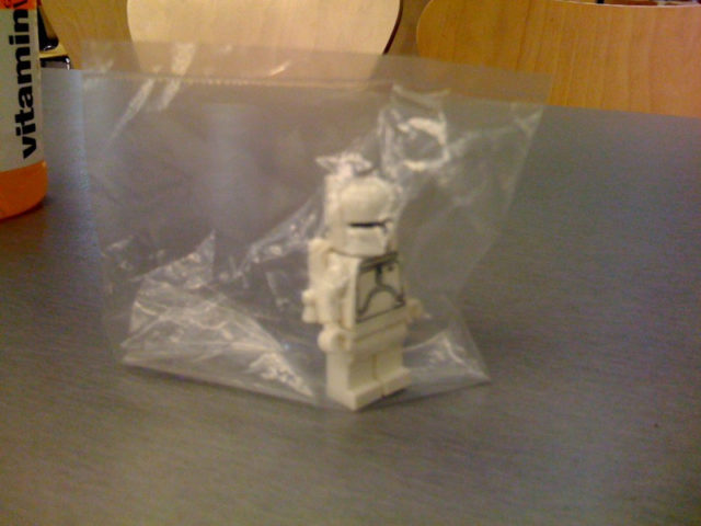 2010 Toy Fair White Boba Fett promo minifigure