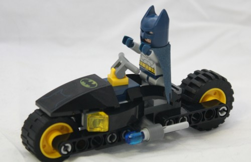 Bat-Bike with Batman