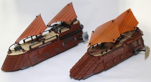 Sail Barge - Comparison