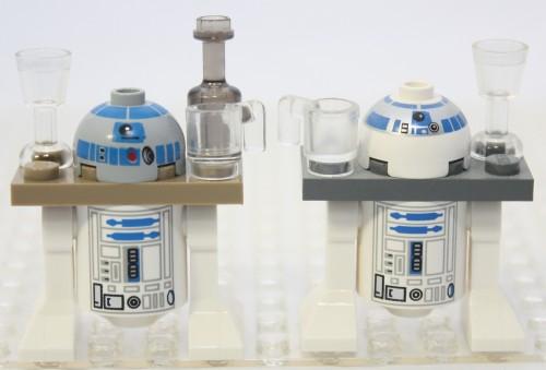Sail Barge - R2-D2 Comparison