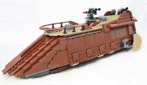 Sail Barge - Sails Off