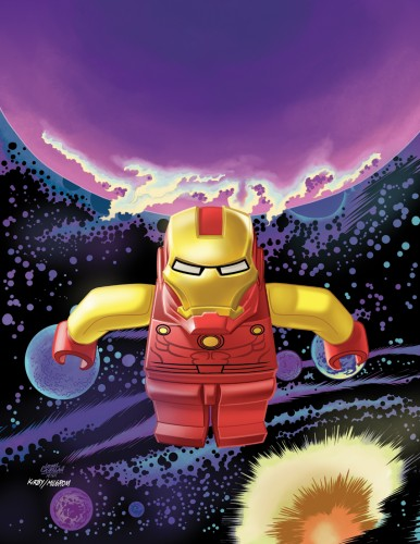 Guardians Of The Galaxy #7 - LEGO Variant