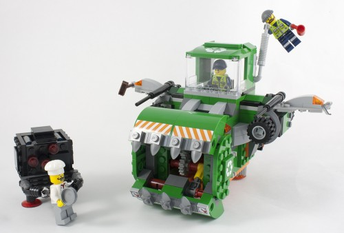 lego movie trash chomper instructions