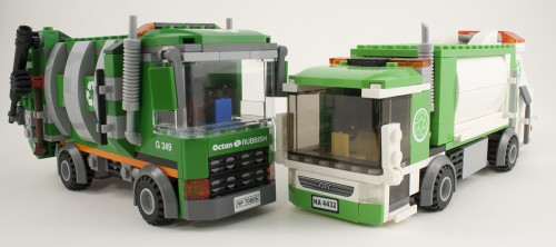 70805 - Garbage Truck Comparison