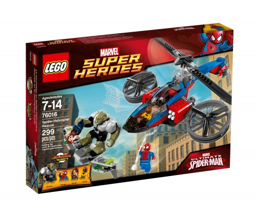 76016 Spider-Helicopter Rescue 1