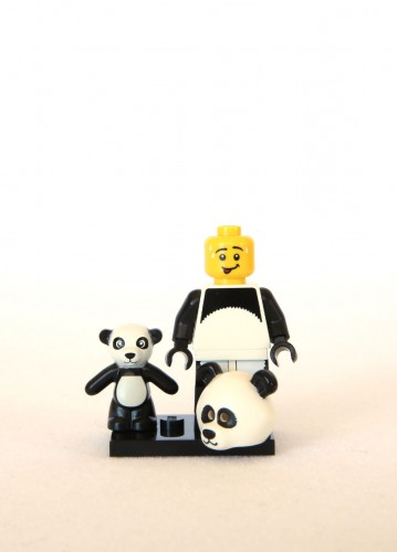 The LEGO Movie Minifigures - Panda Guy 2