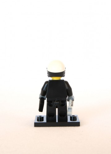 The LEGO Movie Minifigures - Scribble-Face Bad Cop 3