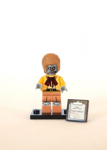 The LEGO Movie Minifigures - Velma Staplebot 1