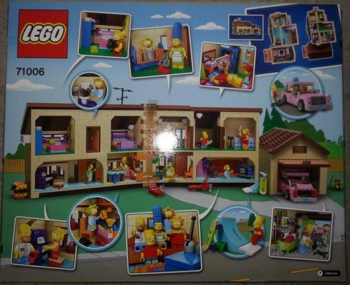 Lego Simpsons House Back