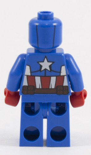 76017 - Captain America Back