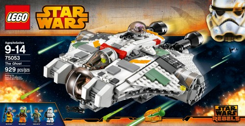 Star Wars Lego - Rebels - The Ghost