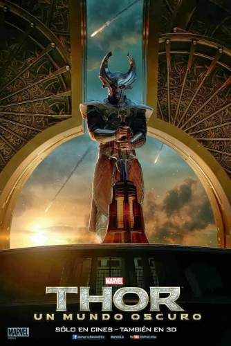 Thor The Dark World Character Movie Posters Set 3 - Idris Elba as Heimdall