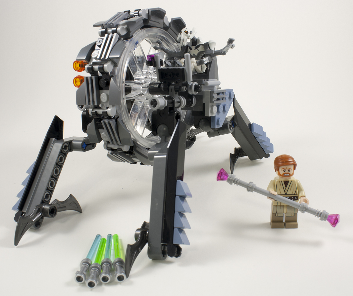 LEGO Bau- & Konstruktionsspielzeug LEGO STAR WARS GENERAL GRIEVOUS WHEEL BIKE 75040 LEGO Baukästen & Sets