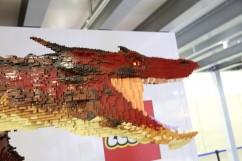 LEGO Smaug Statue 2