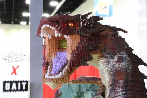 LEGO Smaug Statue 9