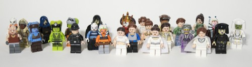 The majority of the female Star Wars minifigs out there