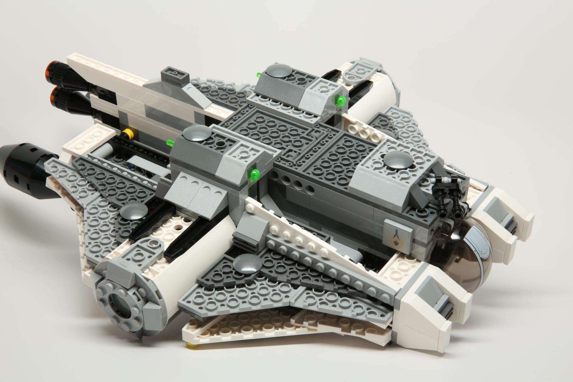 lego escape pod instructions