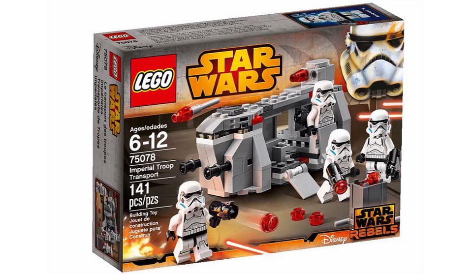 lego star wars rebels 2015 imperial troop transport - Lego Star Wars Vaisseau Clone