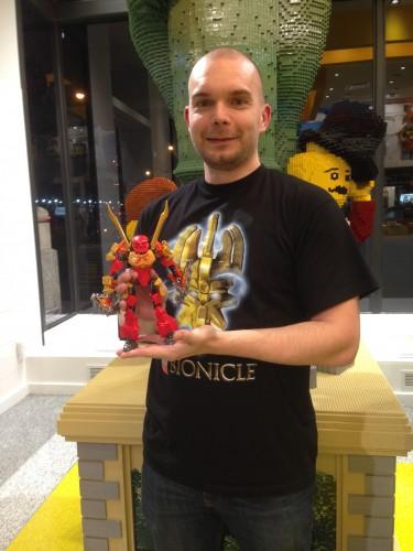 Brian Nelson, Bionicle Design Team Member