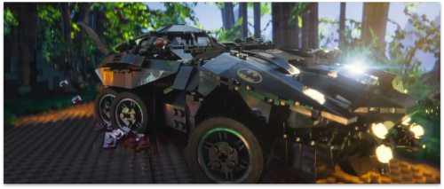 The LEGO Movie Batmobile 1
