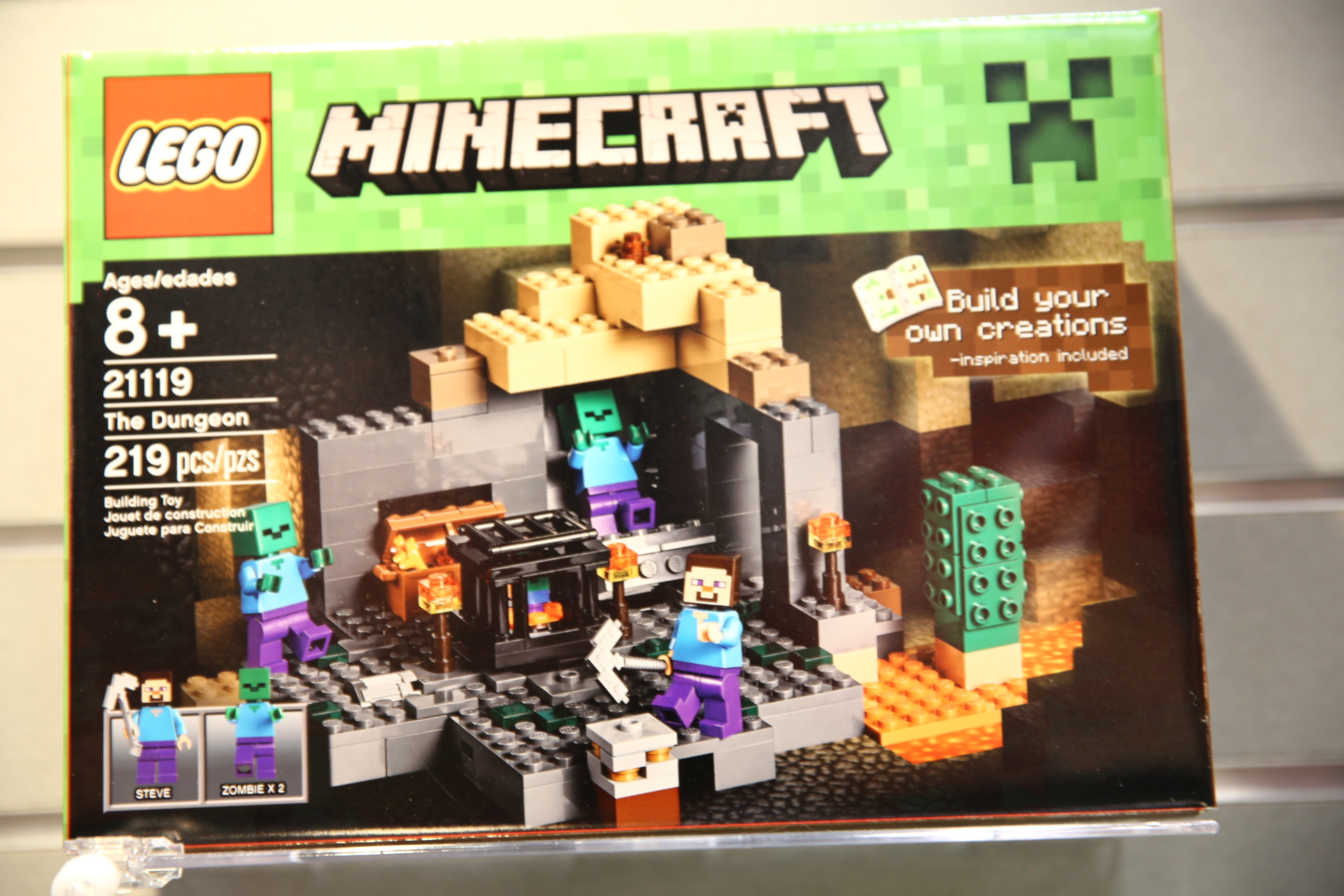 minecraft lego instructions 21119