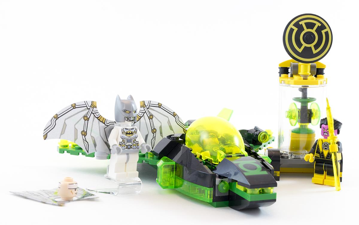 Jet ONLY* Lego DC GREEN LANTERN JET VS SINESTRO 76025 Set *No Minifigs