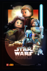 LEGO Star Was Movie Poster - Episode 2 v7