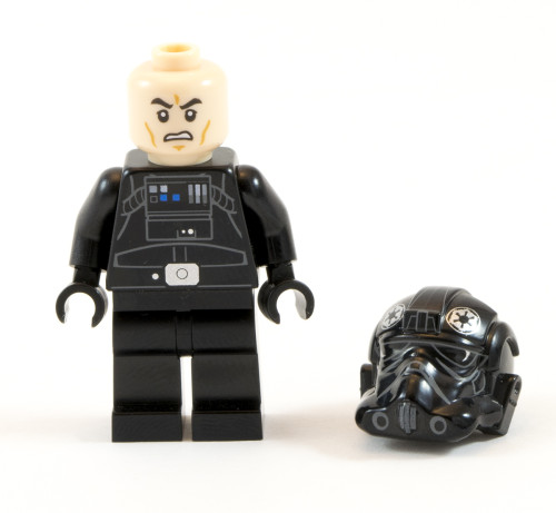 75082 - TIE Fighter Pilot Helmet Off