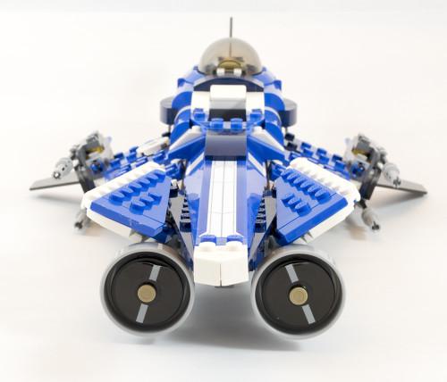 75087 Custom Jedi Starfighter Front