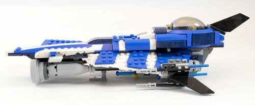 75087 Custom Jedi Starfighter Side
