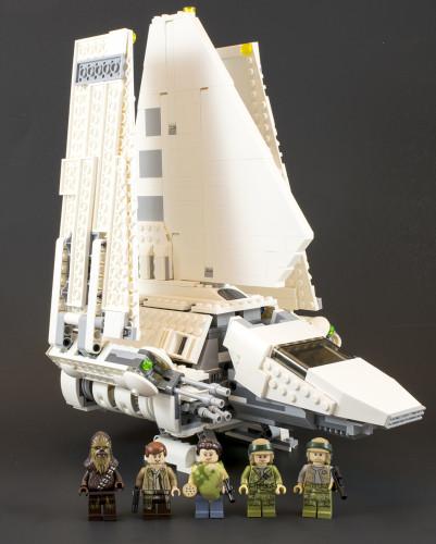 75094 Imperial Shuttle Tydirium Full Set