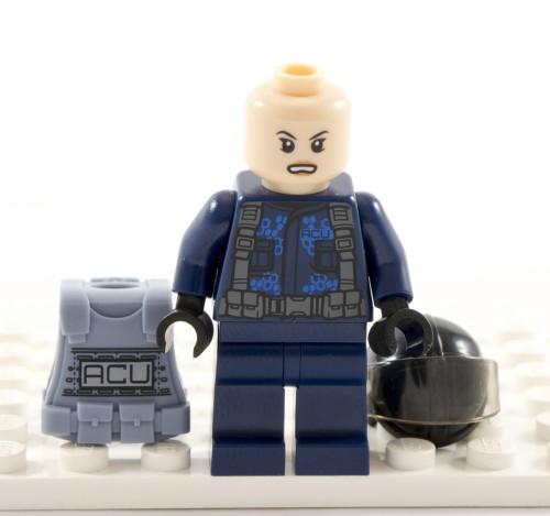 75918 ACU Trooper Helmet Off (Female)