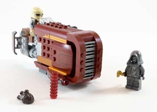 75099 Rey's Speeder Full Set