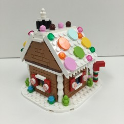 40139 Gingerbread House - 5