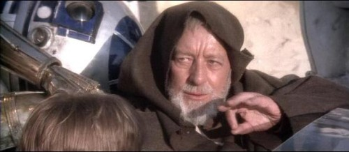 Not even the acting talents of Alec Guinness could hide his disdain for everything that was in this movie.